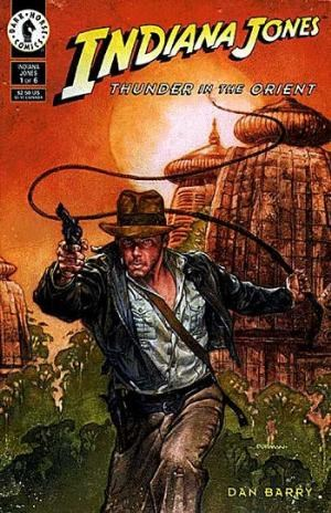 (Dark Horse) Cover for Indiana Jones: Thunder In The Orient #1
