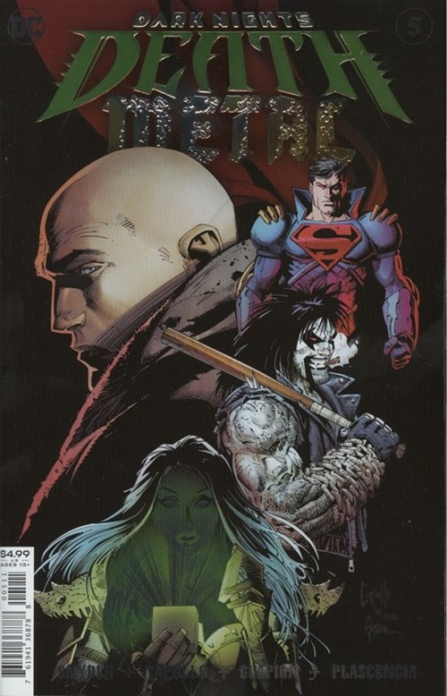 (DC) Cover for Dark Nights: Death Metal #5