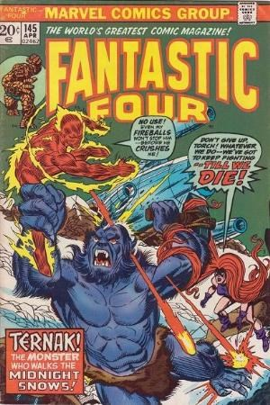 Comic Cover for Fantastic Four (#145)