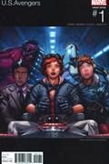 U.S.AVENGERS #1A  Variant Cover Omar Casanova Marvel Hip-Hop Variant Cover