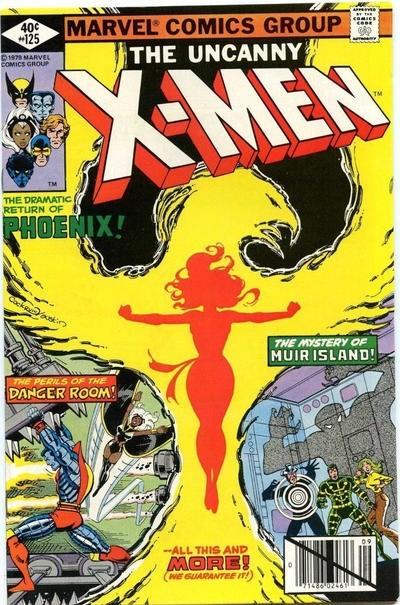 (Marvel) Cover for X-Men #125 1st Appearance of Mutant X.