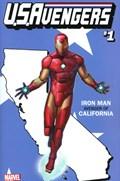 U.S.AVENGERS #1J  Variant Cover Rod Reis California State Variant Cover