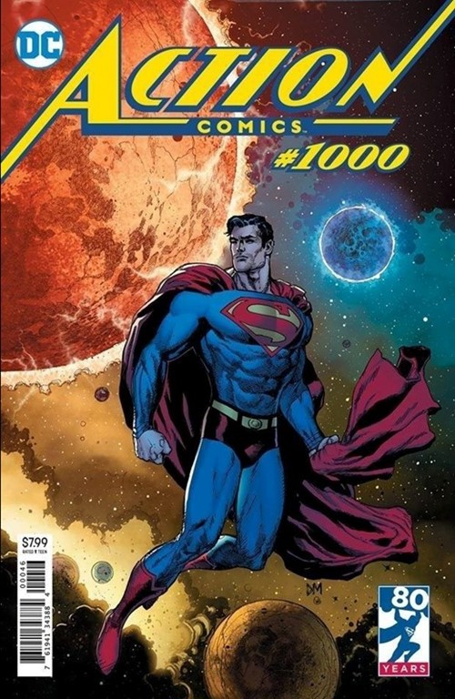 (DC) Cover for Action Comics #1000 Fried Pie Convention Exclusive Variant by Doug Mahnke