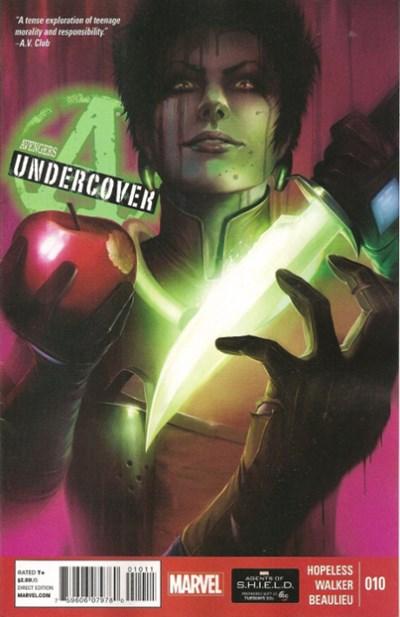 (Marvel) Cover for Avengers Undercover #10