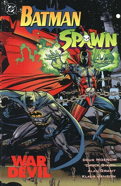 (DC) Cover for Batman/Spawn: War Devil  #nn Direct Edition