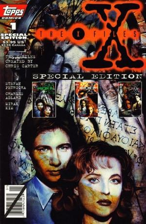 (Topps) Cover for X-Files, The: Special Edition #1 Reprints regular issues 1 - 3.