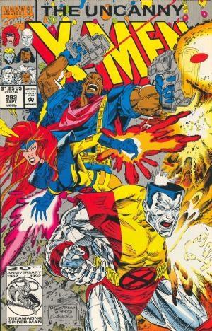 (Marvel) Cover for Uncanny X-Men #292
