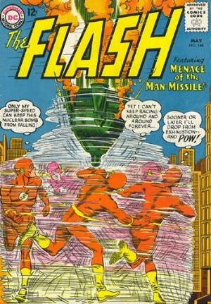 (DC) Cover for Flash, The #144 1st Appearance of Man-Missile (Lucas Elrod)