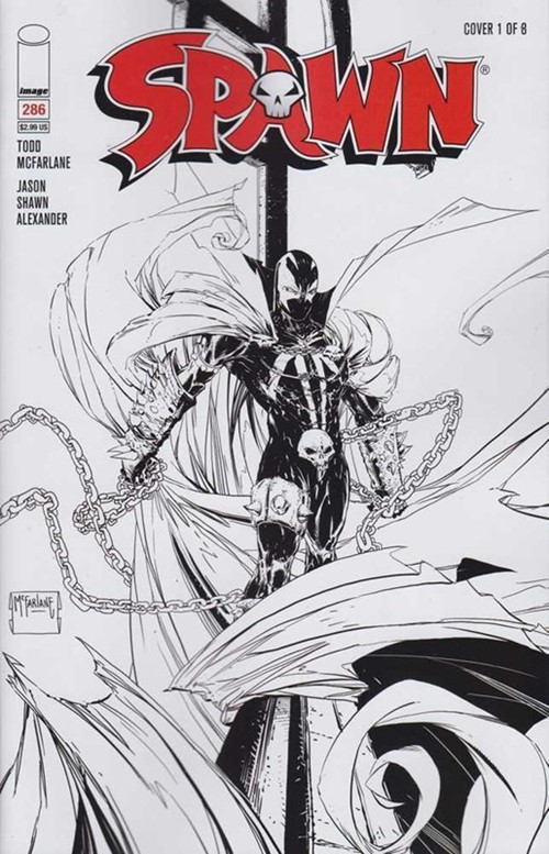 (Image) Cover for Spawn #286
