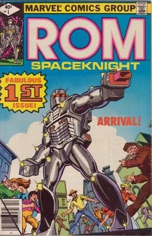 Comic Cover for Rom (#1)