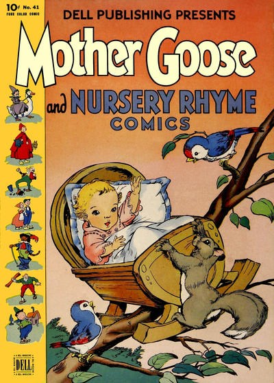 Comic Cover for Mother Goose And Nursery Rhyme Comics (Four-Color) (#41)