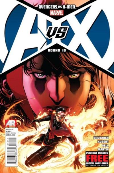 (Marvel) Cover for Avengers Vs. X-Men #10