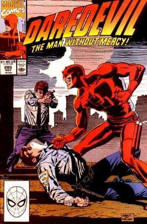 Comic Cover for Daredevil (#286)