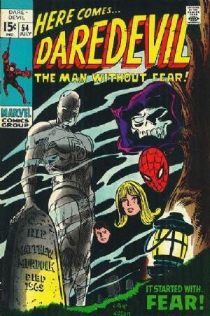 Comic Cover for Daredevil (#54)