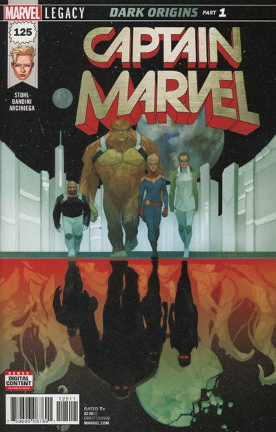Comic Cover for Captain Marvel (#125)