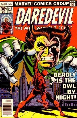 Comic Cover for Daredevil (#145)