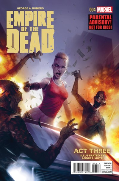(Marvel) Cover for George Romero's Empire Of The Dead: Act Three #4