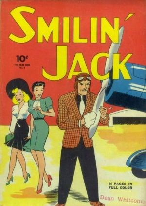 Comic Cover for Smilin Jack (Four-Color) (#4)