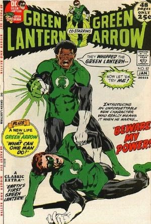 Comic Cover for Green Lantern (#87)