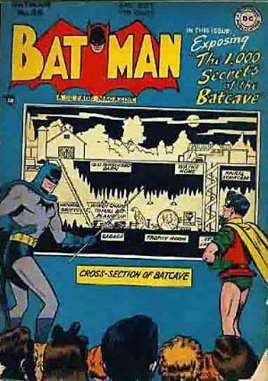 (DC) Cover for Batman #48 Secrets of the  Batcave