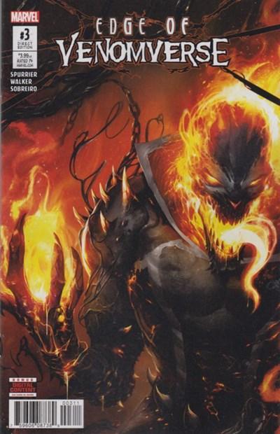 (Marvel) Cover for Edge Of Venomverse #3