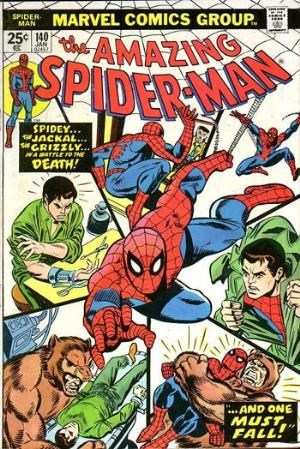 Comic Cover for Amazing Spider-Man (#140)
