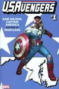 U.S.AVENGERS #1Z  Variant Cover Rod Reis Maryland State Variant Cover