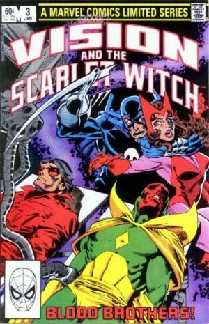 (Marvel) Cover for Vision And The Scarlet Witch, The #3