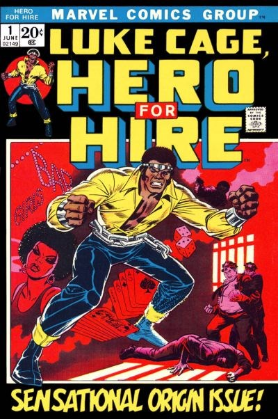 Comic Cover for Luke Cage, Hero For Hire (#1)