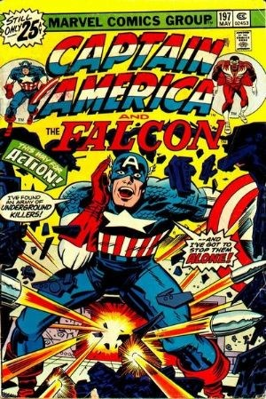 Comic Cover for Captain America (#197)