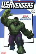 U.S.AVENGERS #1KK  Variant Cover Rod Reis New Mexico State Variant Cover