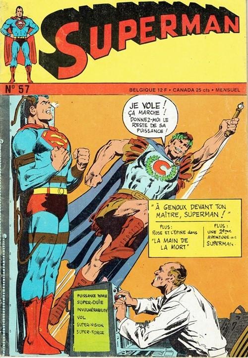 (Interpresse) Cover for Superman #57
