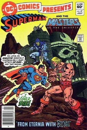 (DC) Cover for Dc Comics Presents #47 1st Appearance of He-man, Skeletor and Battle Cat