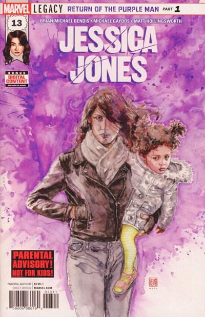 Comic Cover for Jessica Jones (#13)