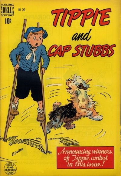 Comic Cover for Tippie And Cap Stubbs (Four-Color) (#242)