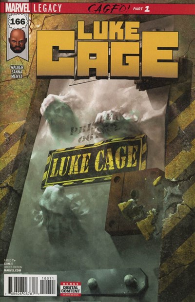 Comic Cover for Luke Cage (Marvel Legacy) (#166)