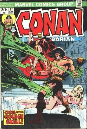 Comic Cover for Conan The Barbarian (#37)