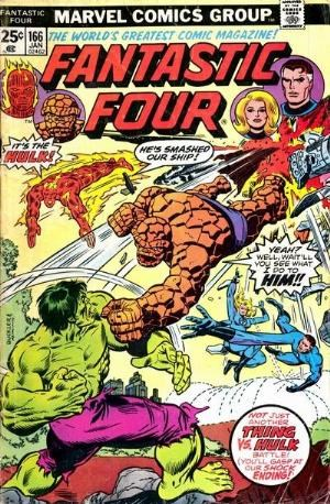 Comic Cover for Fantastic Four (#166)