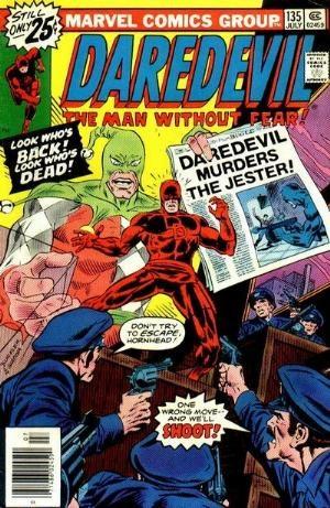Comic Cover for Daredevil (#135)