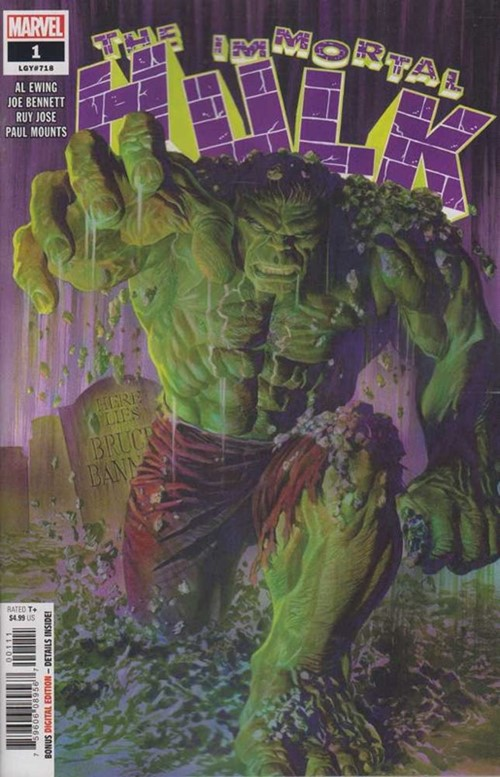 Comic Cover for Immortal Hulk (#1)