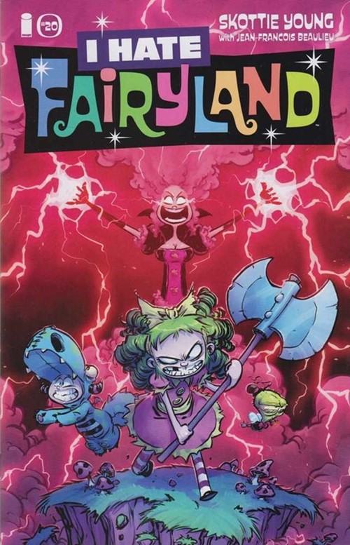 (Image) Cover for I Hate Fairyland #20