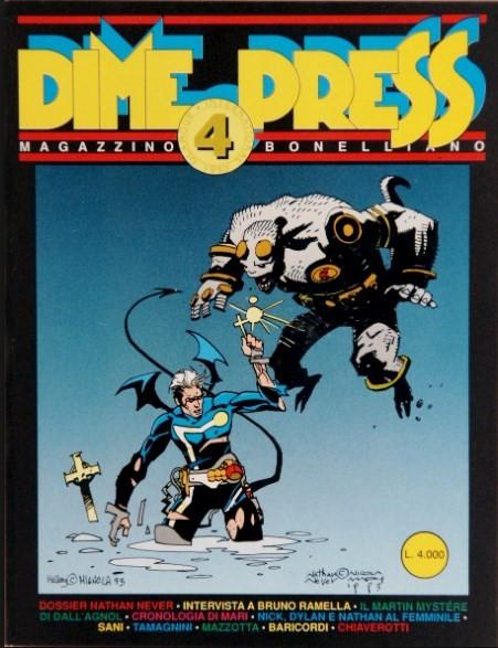 Comic Cover for Dime Press (#4)