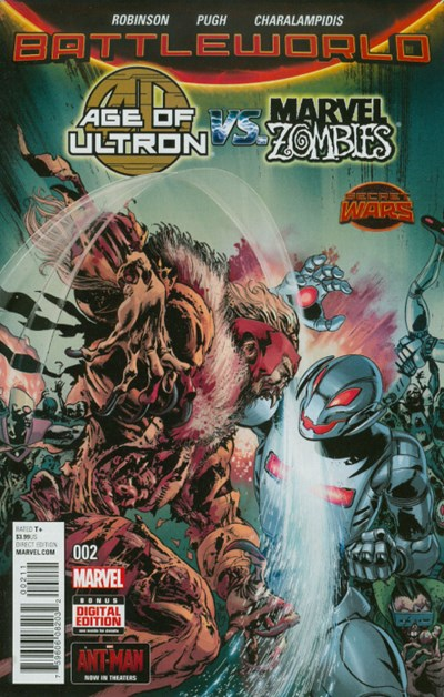 (Marvel) Cover for Age Of Ultron Vs. Marvel Zombies #2