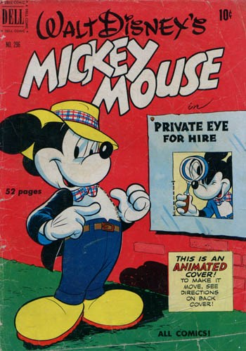 Comic Cover for Mickey Mouse (Four-Color) (#296)