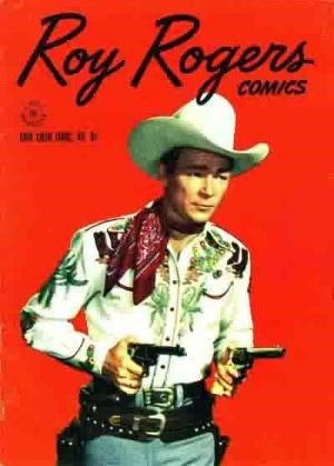 Comic Cover for Roy Rogers Comics (Four Color) (#95)