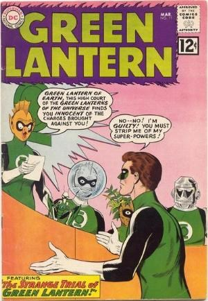 (DC) Cover for Green Lantern #11 1st Appearance of Green Lantern Medphyll and Green Lantern Stel