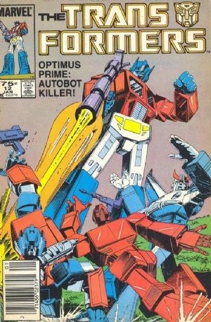 Comic Cover for TRANSFORMERS (#)