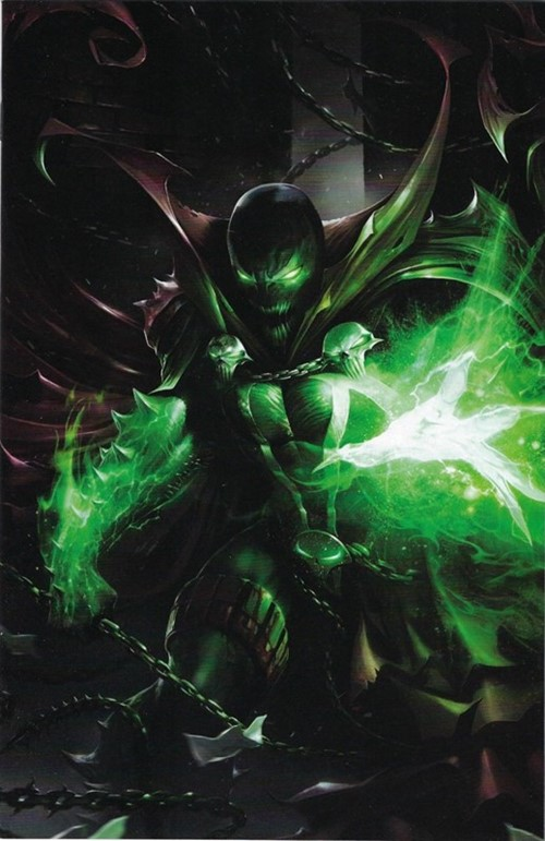 (Image) Cover for Spawn #290 Cover C by Francesco Mattina Virgin Variant Cover