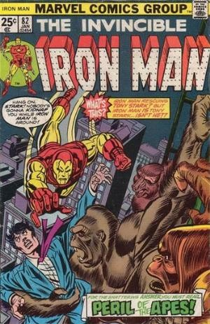 Comic Cover for Iron Man (#82)