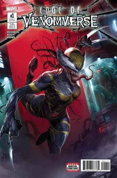 (Marvel) Cover for Edge Of Venomverse #1